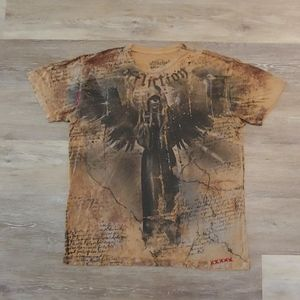 Affliction Bamboo Men's Graphic T-Shirt